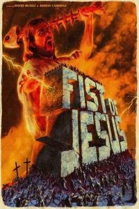 "Plakat von ""Fist of Jesus"""