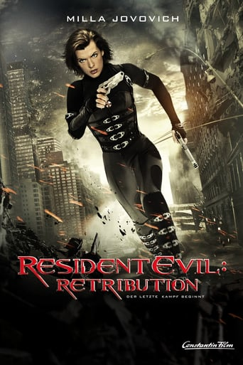 "Plakat von ""Resident Evil: Retribution"""