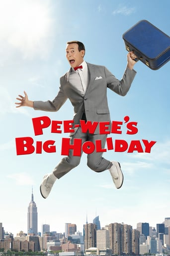 "Plakat von ""Pee-wee's Big Holiday"""