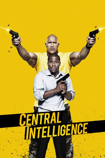 "Plakat von ""Central Intelligence"""