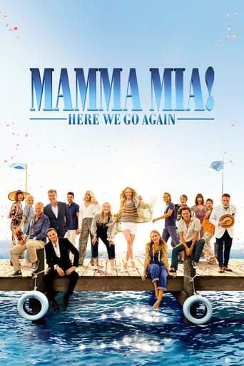 "Plakat von ""Mamma Mia! Here We Go Again"""