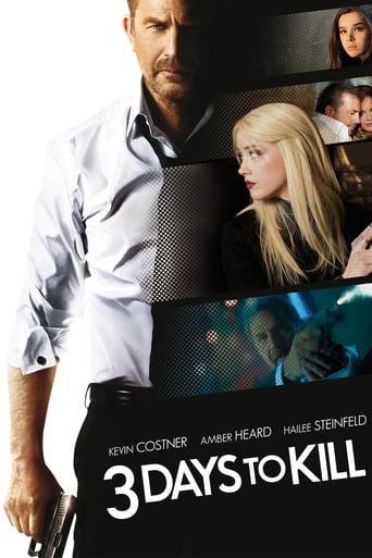 "Plakat von ""3 Days to Kill"""