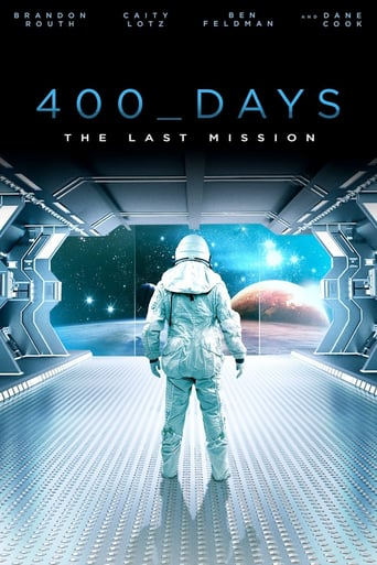 "Plakat von ""400 Days - The Last Mission"""