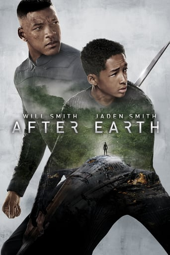 "Plakat von ""After Earth"""