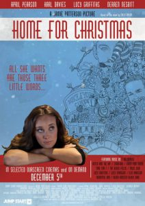 "Plakat von ""Home for Christmas"""