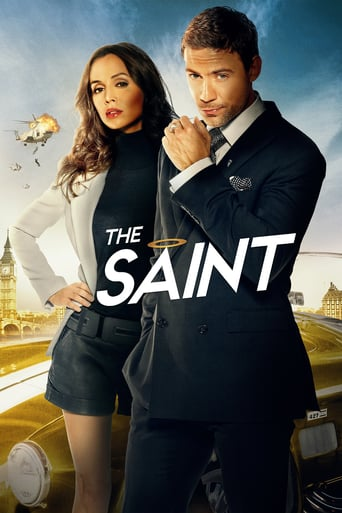 "Plakat von ""The Saint"""