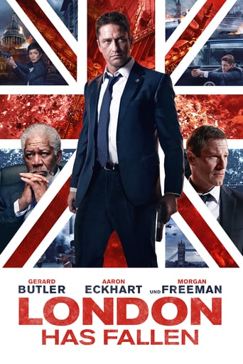 "Plakat von ""London Has Fallen"""