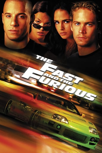 "Plakat von ""The Fast and the Furious"""