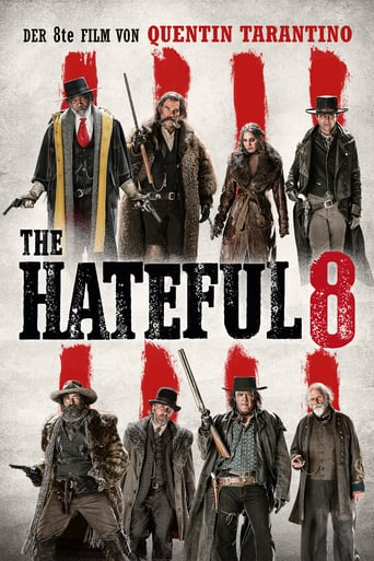 "Plakat von ""The Hateful 8"""
