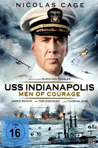 "Plakat von ""USS Indianapolis - Men of Courage"""