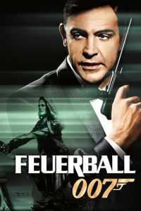 "Plakat von ""James Bond 007 - Feuerball"""