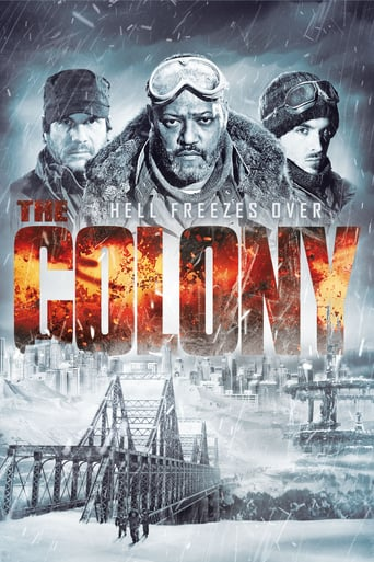 """Plakat von """"The Colony - Hell Freezes Over"""""""