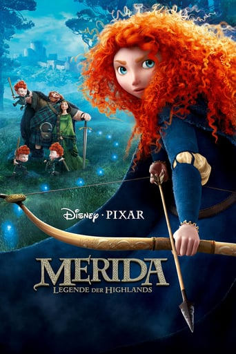 "Plakat von ""Merida - Legende der Highlands"""
