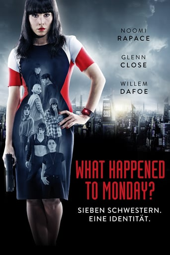 "Plakat von ""What Happened to Monday?"""