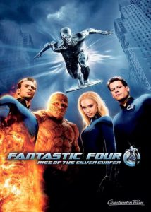 "Plakat von ""Fantastic Four - Rise of the Silver Surfer"""
