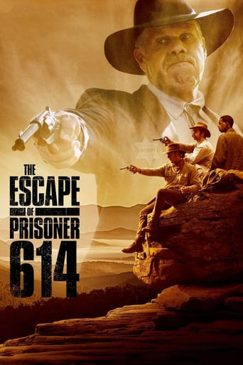 "Plakat von ""The Escape of Prisoner 614"""
