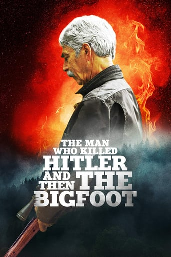 "Plakat von ""The Man Who Killed Hitler and Then the Bigfoot"""